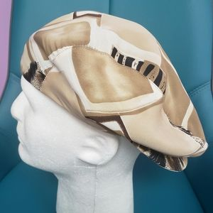 Mens Newsboy Hat Brown, Black, White, Tan NWT!
